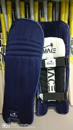MACE Moulded Cricket Batting Pad - 2 Straps Navy