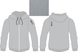 MACE Hoody Top Polyester Kniytted Fabric - Women